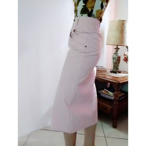 Vintage LizWear High Waisted Corduroy Skirt
